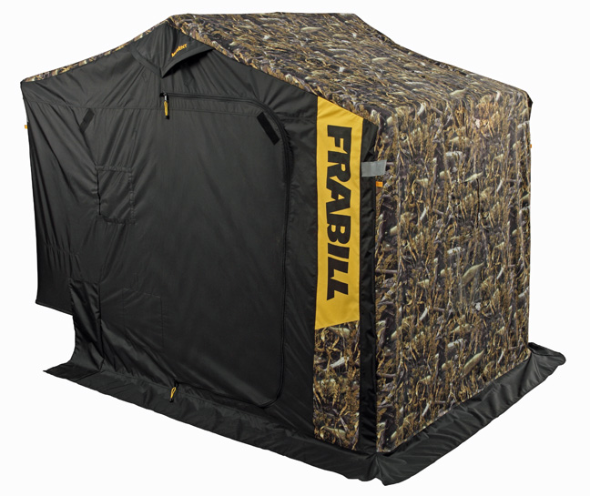 Frabill new sidestep ice fishing shelters fishing sport for Ice fishing house parts