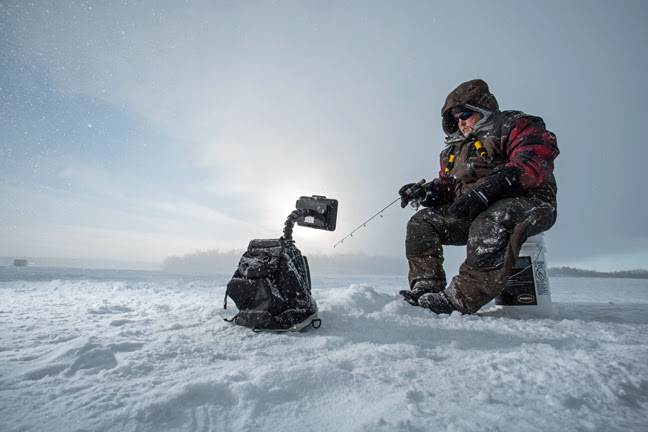 Frabill i 3 s a charm fishing sport show for Frabill ice fishing suit