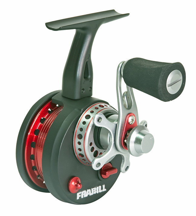 The much lauded 371 Straight Line Reel - also sold separately - pairs with existing rods to improve overall ice fishing performance.