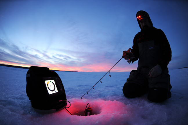 Humminbird your new hardwater hero fishing sport show for Ice fishing apps