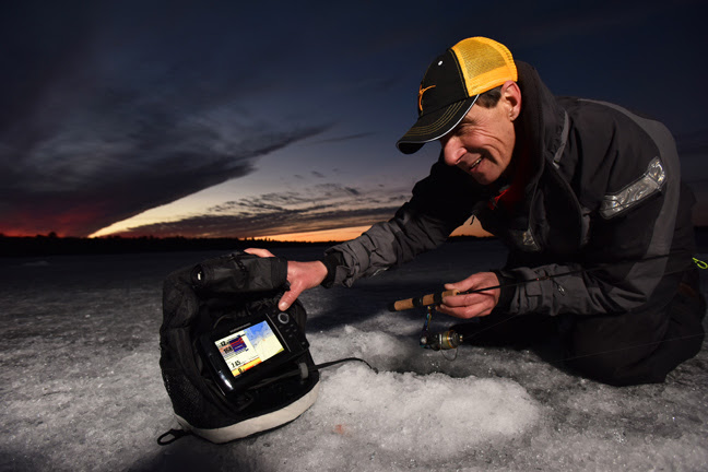 humminbird bug out bag for ice fishing fishing sport show