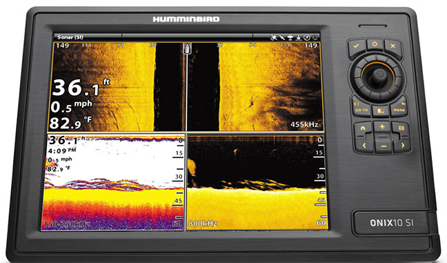 Used in combination with Humminbird SI, DI and 360, CHIRP completes a suite of awesome fish-finding technologies, giving anglers another tool to interpret fish returns and their exact location relative to the boat.