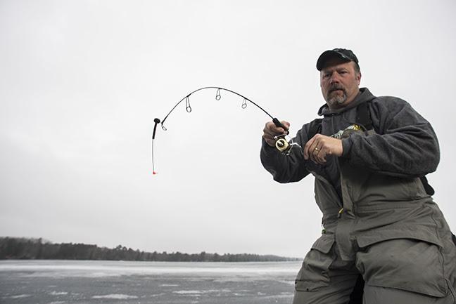 ST. CROIX ROD: Black Ice Makes Fish Anxious