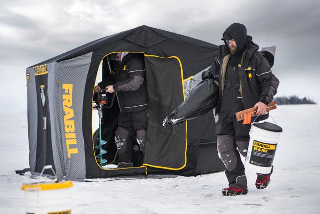 FRABILL: Ice Shelter Revolution? Yep  – Fishing Sport Show