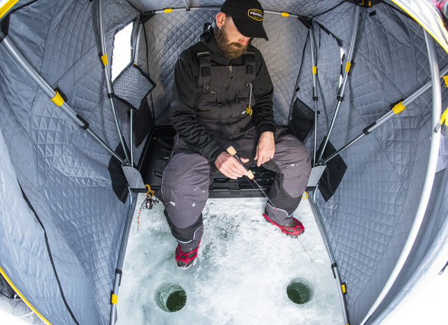 FRABILL: New Recruit Ice Fishing Shelter – Fishing Sport Show