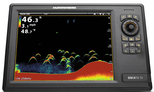 Humminbird's free 2.700 software download gives ONIX users unparalleled image clarity and target separation via CHIRP 2D SONAR functionality -- no additional hardware or re-rigging required.