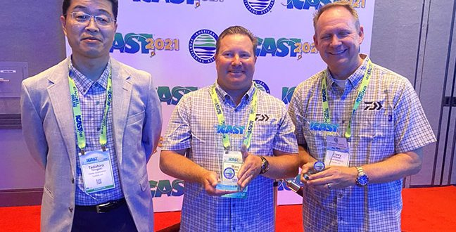 Daiwa's Saltist MQ Spinning Reel Captures ICAST Best in Category Award
