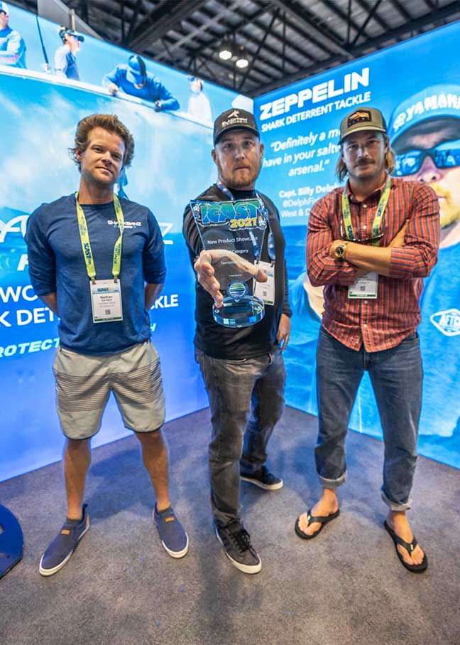 Sharkbanz Zeppelin Wins Best of Category at Exciting ICAST Show